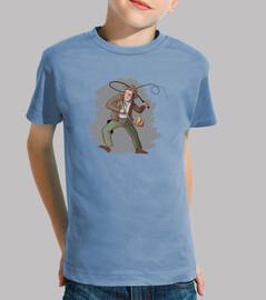 Indiana Jones camiseta niño