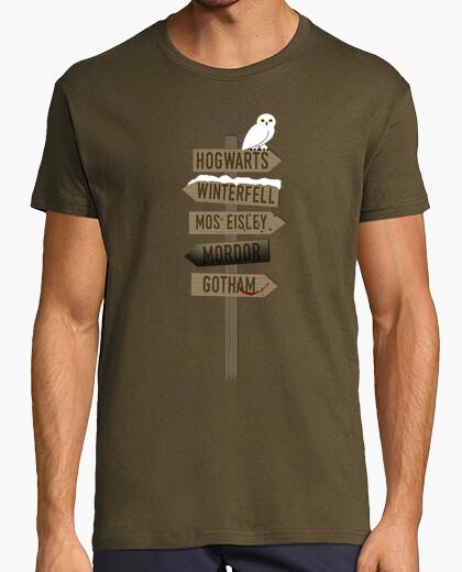 T-shirt indirizzo postale