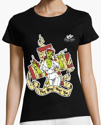T-shirt Infermiera zombie