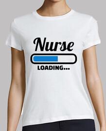 infirmière chargement