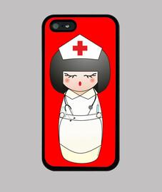 infirmière kokeshi