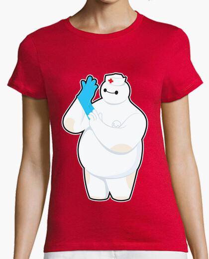 Tee-shirt infirmière robotique
