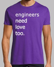 ingegneri hanno bisogno amore troppo