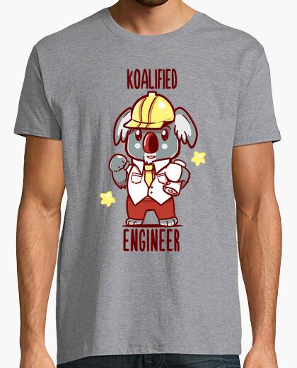 Ingeniero koalified - koala animal pun - camiseta para hombre