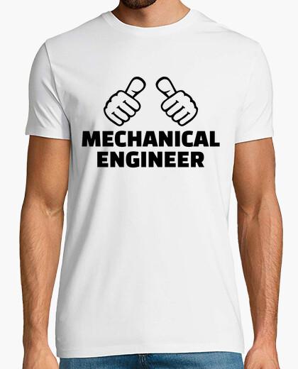 Camiseta ingeniero mecánico