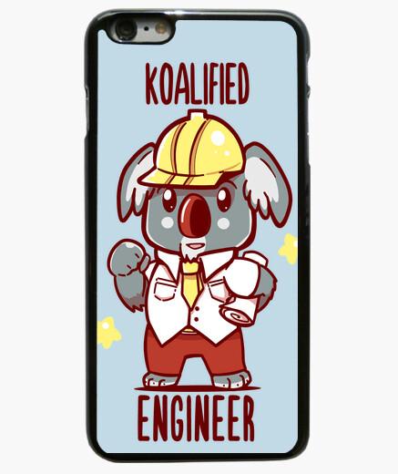 Coque Iphone 6 Plus / 6S Plus ingénieur koalified - koala animal pun - cas de téléphone
