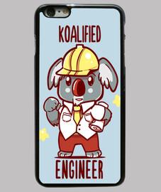 ingénieur koalified - koala animal pun - cas de téléphone