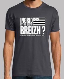 ingrid è che si breizh? - t-shirt uomo