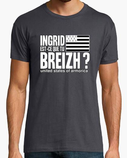 Camiseta ingrid qué breizh? - t-shirt