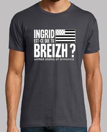ingrid qué breizh? - t-shirt