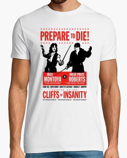 Camiseta Iñigo Montoya vs Dread Pirate Roberts (La Princesa Prometida)