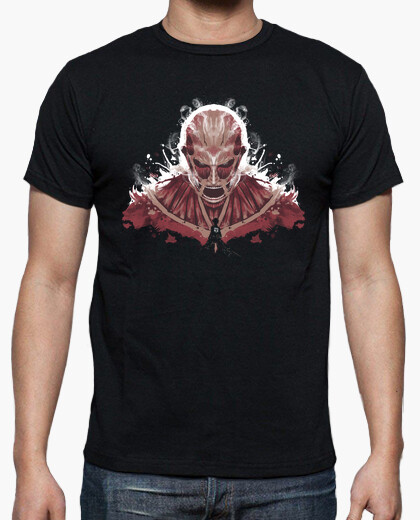 Camiseta Ink on Titan