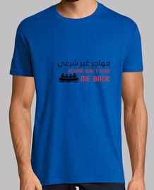 Inmigrante Ilegal camiseta unisex