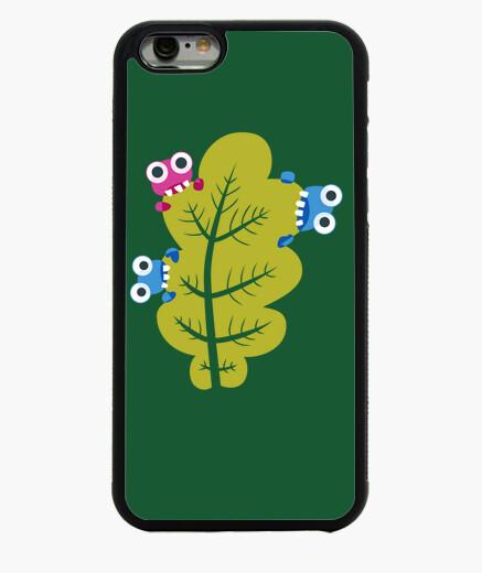 Coque Iphone 6 / 6S insectes mignons mangent feuille verte