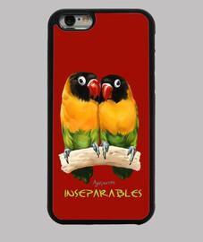 inseparable lovebirds