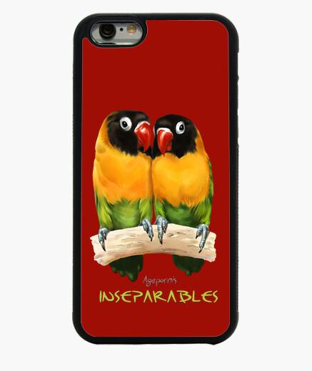 Funda iPhone 6 / 6S Inseparables agapornis