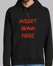 Insert brain