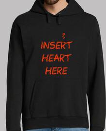 Insert heart