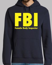 inspecteur de corps féminin