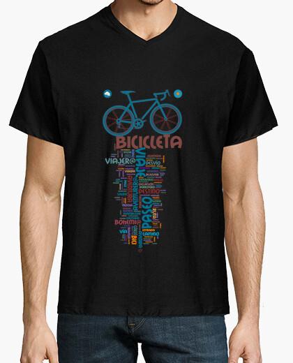 Tee-shirt inspiration de vélo