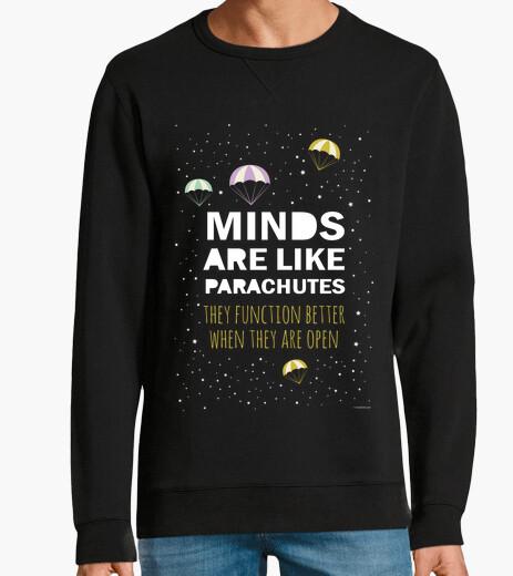 Felpa inspirational frase: mente-paracadute