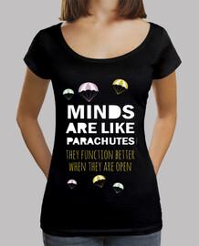 inspirational frase: mente-paracadute