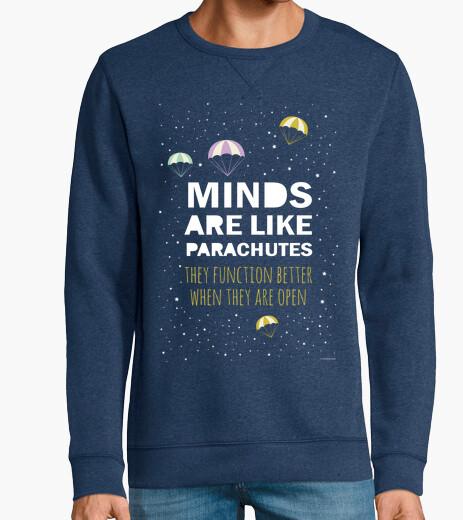 Inspirational phrase: minds-parachutes hoodie