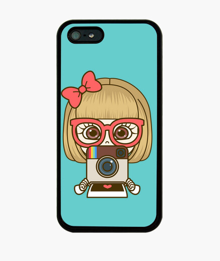 Funda iPhone Instagram cute girl. iPhone5