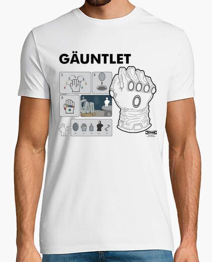 Camiseta instrucciones omnipotentes