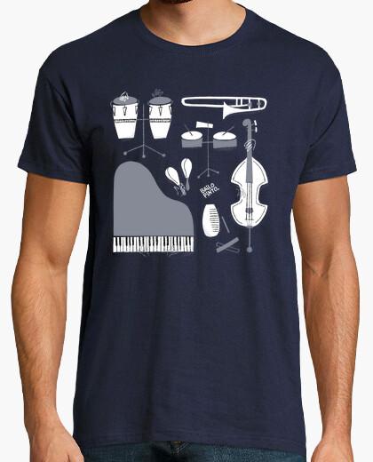Camiseta Instrumentos de salsa