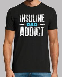 insuline papa toxicomane diabétique