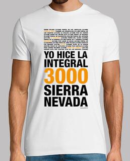 Integral of the sierra nevada 3000 plus