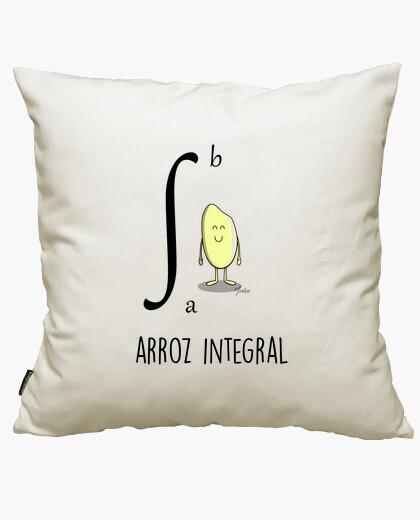 Integral rice cushion cover