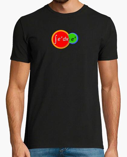 Tee-shirt intégrale exponentielle