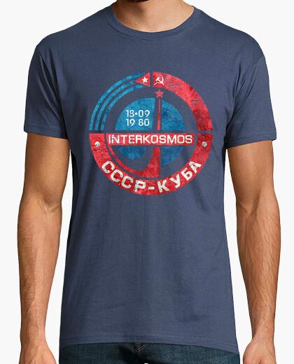 Tee-shirt intercosmos cccp cuba