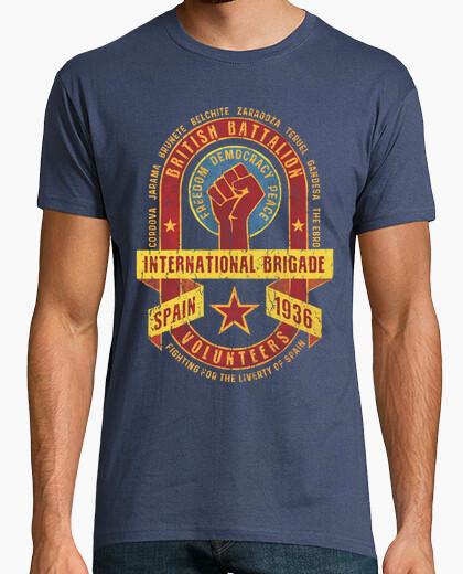 Camiseta International Brigade - British...