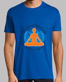 International Day of Yoga camiseta básica
