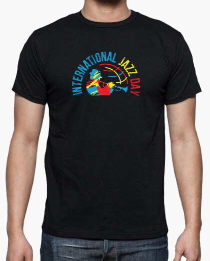International jazz day t-shirt