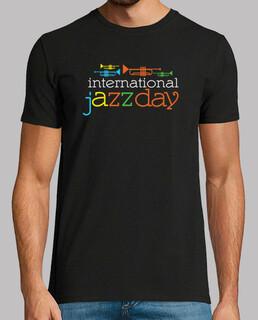 internationaler jazz-tagest-shirt