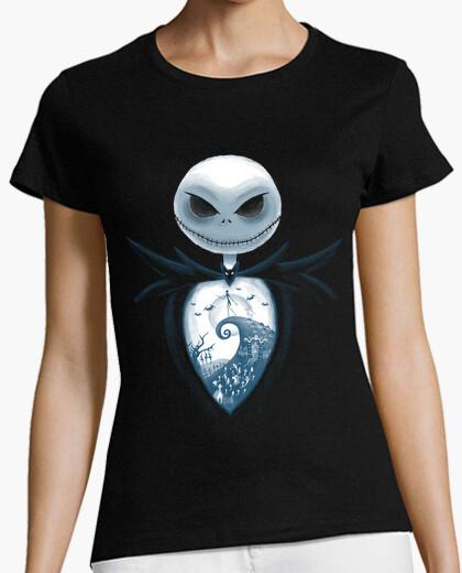 T-shirt interno di halloween