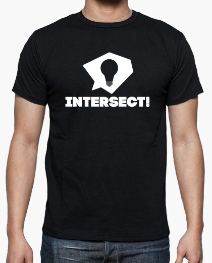 Camiseta Intersect! en blanco - Alternativo