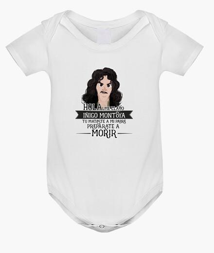 Abbigliamento bambino iñigo montoya - bambino corpo, bianco