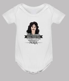 Iñigo Montoya - Body bebé, blanco