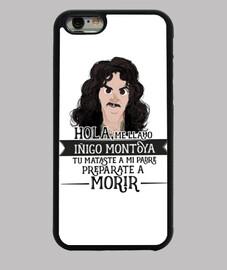 iñigo montoya - iphone 6 case, black