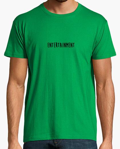 T-shirt intrattenimento nero