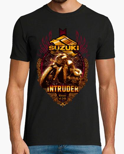 Camiseta intruder gold