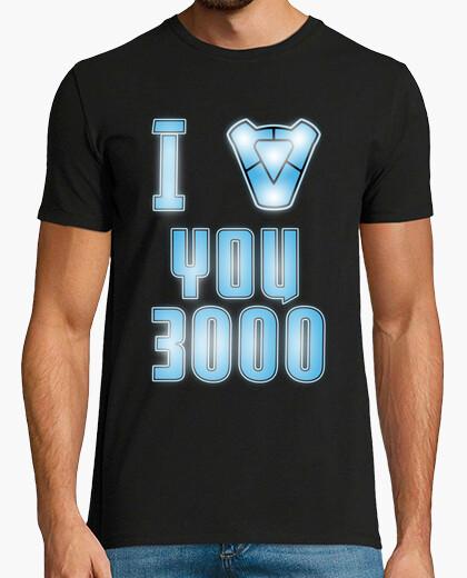 T-shirt Io amoree you 3000