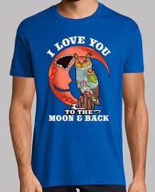 Io amoree you alla moon e back