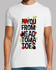 Io amoree you dai pomodori a testa