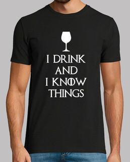 io bevo e so che le cose